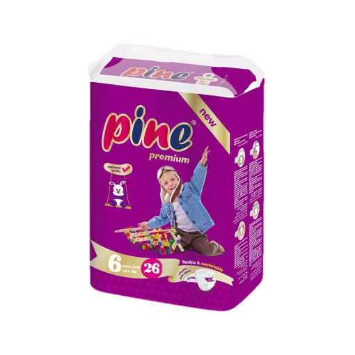 Pine XL 6, 16+ kg, 26 db, Pelenka