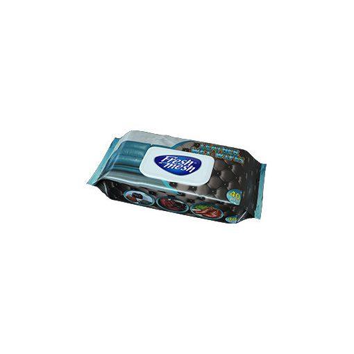 Fresh Mesh  nedves bőrtisztító  torlokendő fedeles 40 db