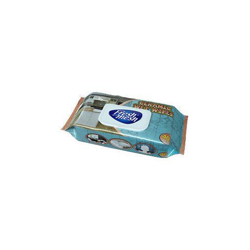 Fresh Mesh  nedves kérámia  torlokendő fedeles 40 db