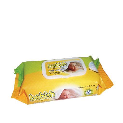 Honey Bebish baba nedves törlőkendő 72 db